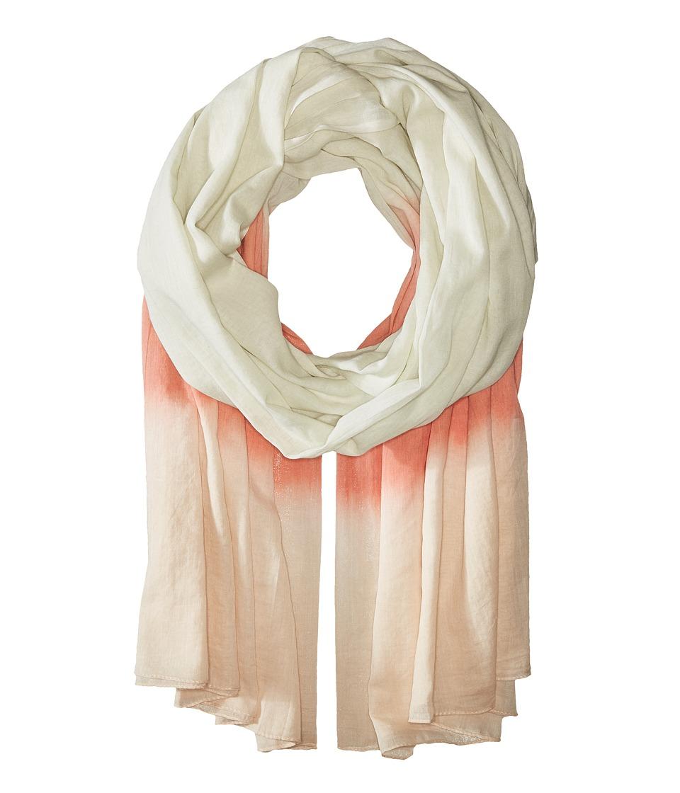Tasha Polizzi - Dip Dye Scarf (Coral) Scarves