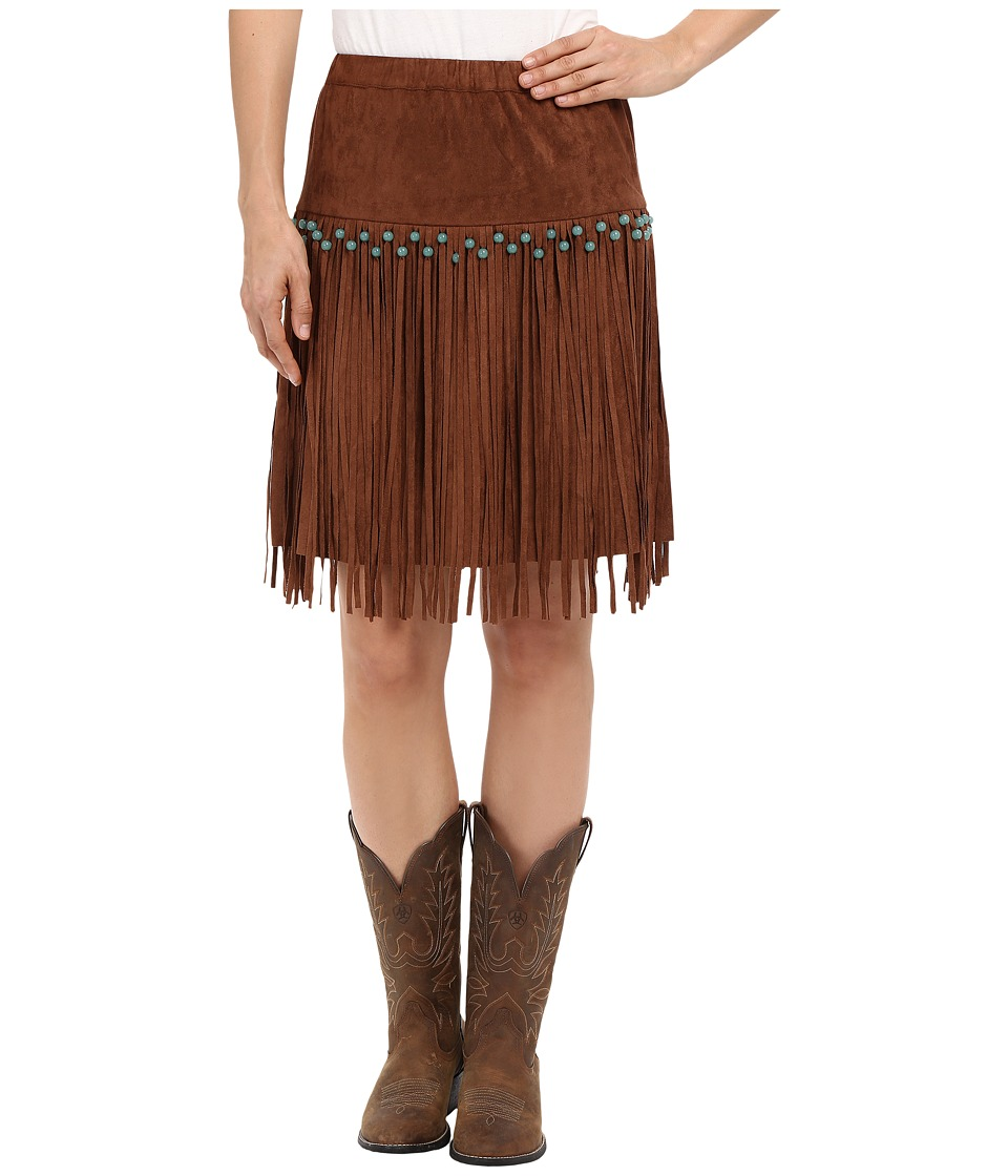 Tasha Polizzi - Wild Bunch Skirt (Tan) Women's Skirt