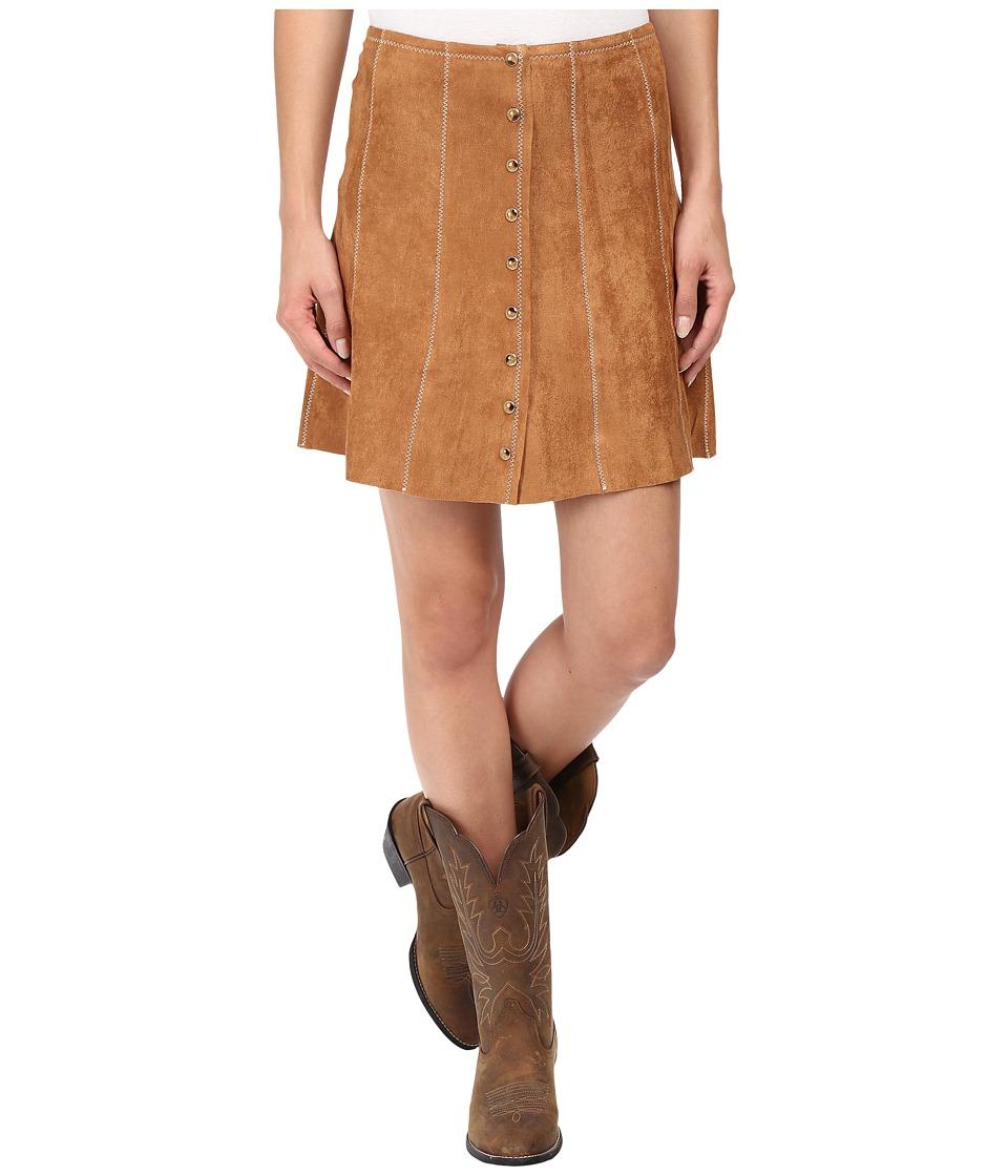 Tasha Polizzi - Christy Skirt (Camel) Women's Skirt