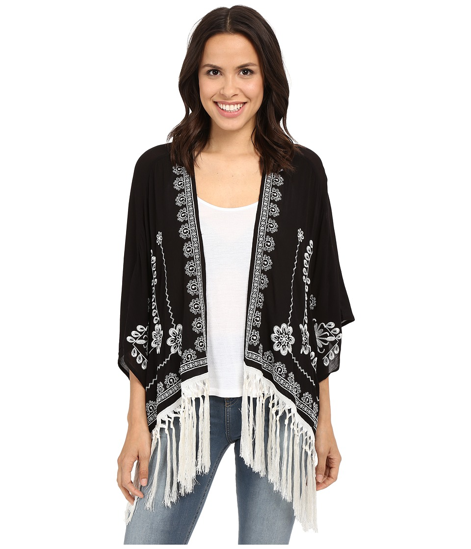 Tasha Polizzi - Grace Cardigan (Black) Women's Sweater