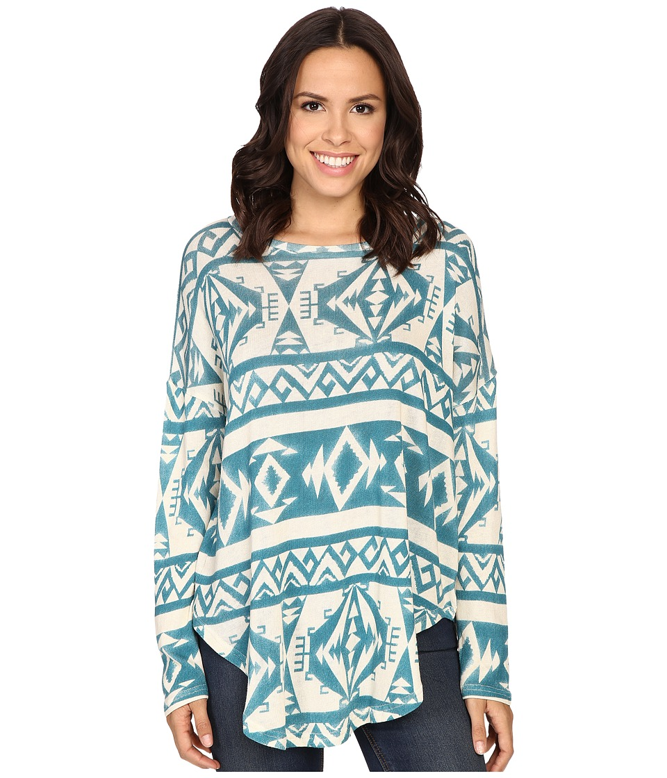 Tasha Polizzi - Ahana Sweater (Blue) Women's Sweater