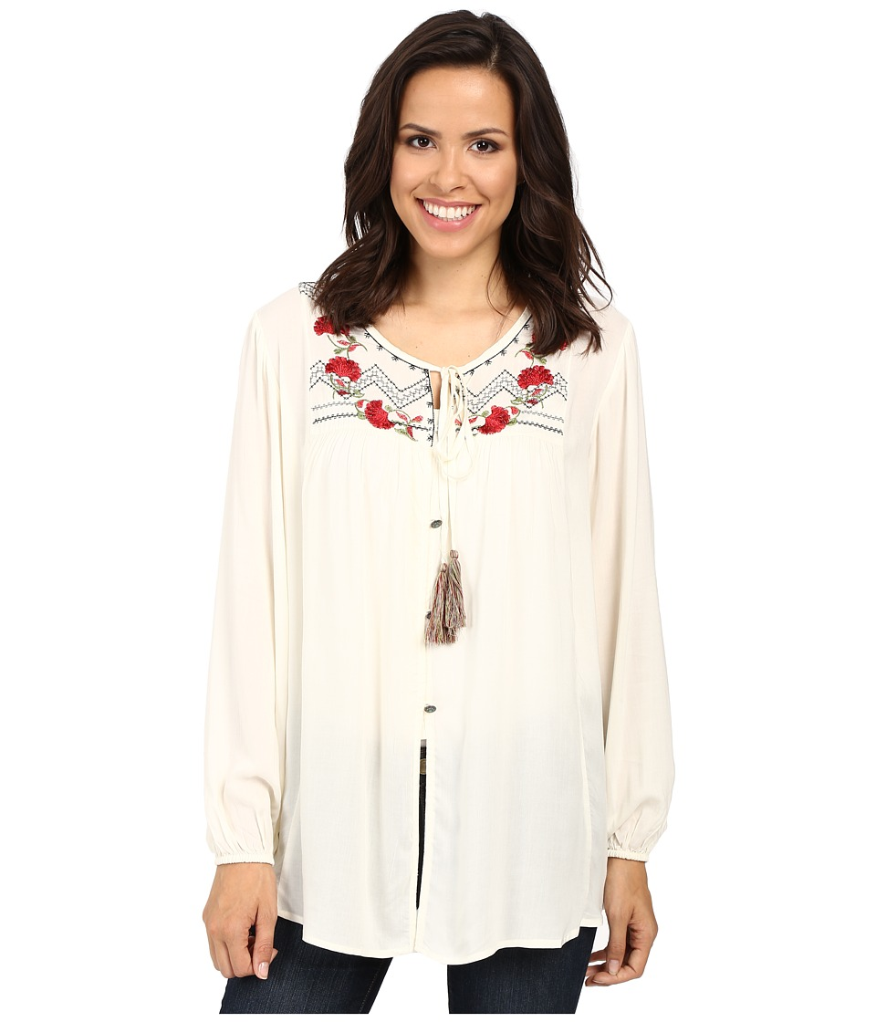 Tasha Polizzi - Meadow Shirt (Ivory) Women's Clothing