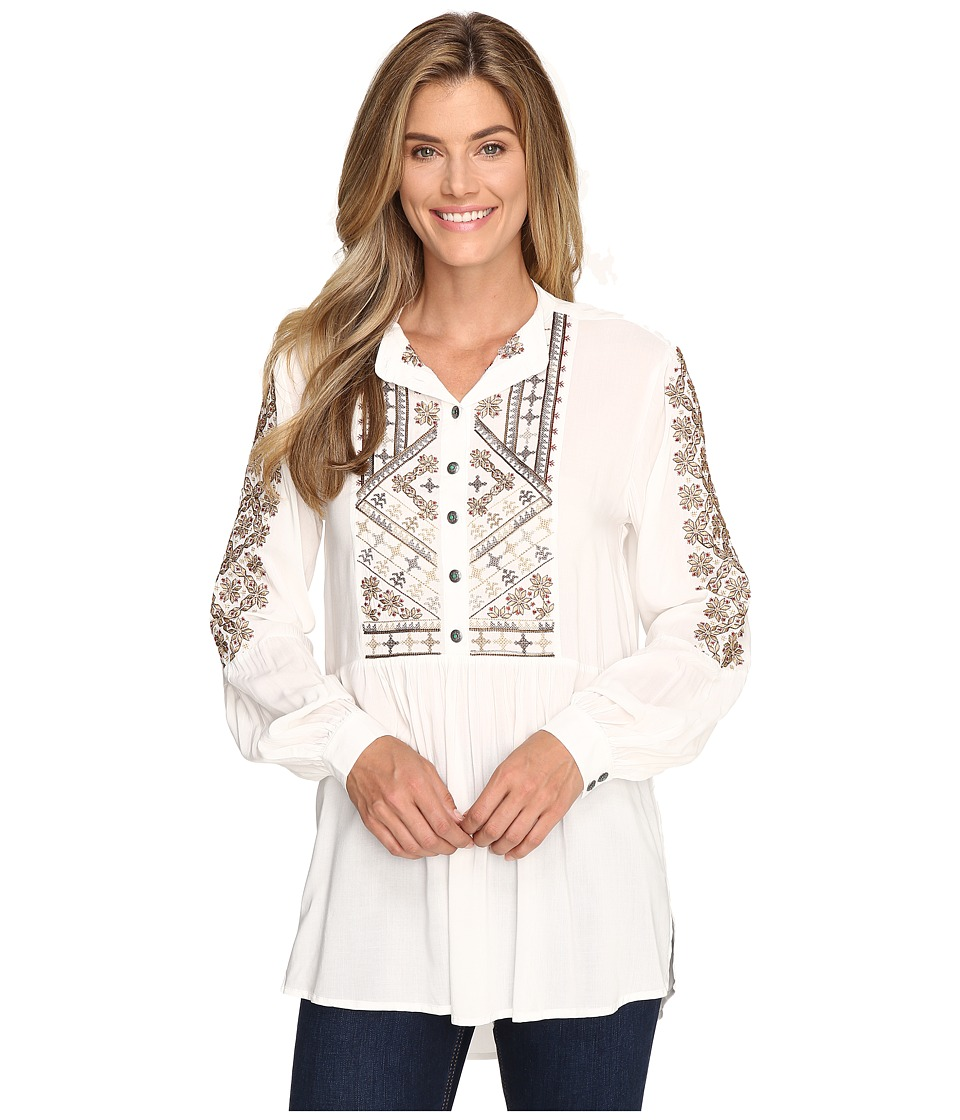 Tasha Polizzi - Lily Shirt (Ivory) Women's Clothing