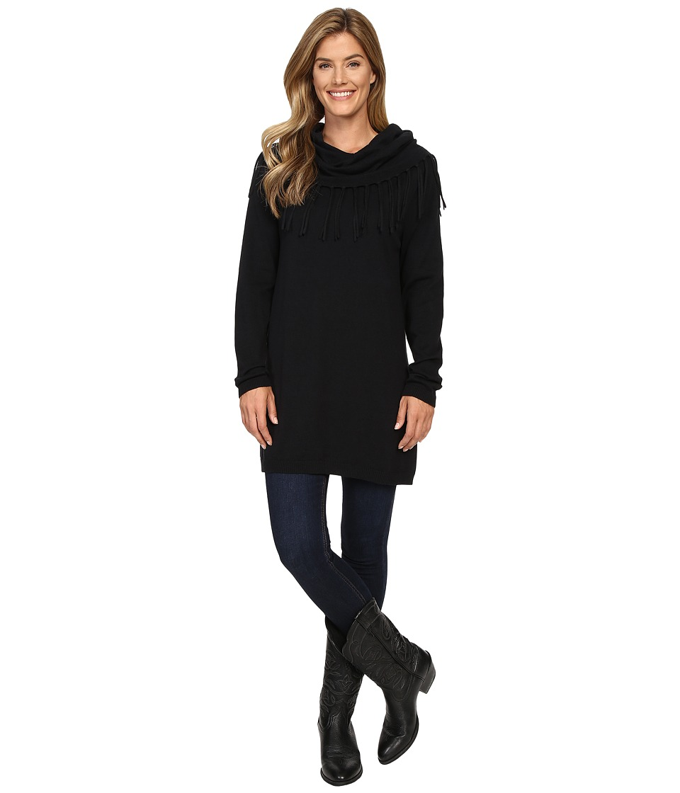 Tasha Polizzi - Thoroughbred Tunic (Black) Women's Blouse