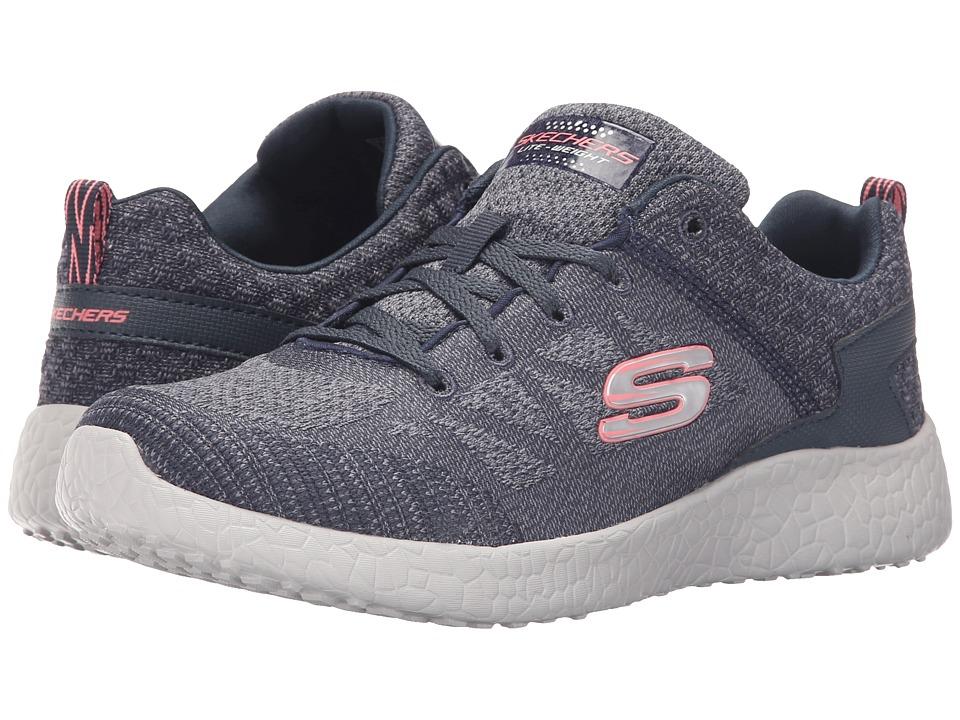 SKECHERS - Burst (Navy) Women's Shoes