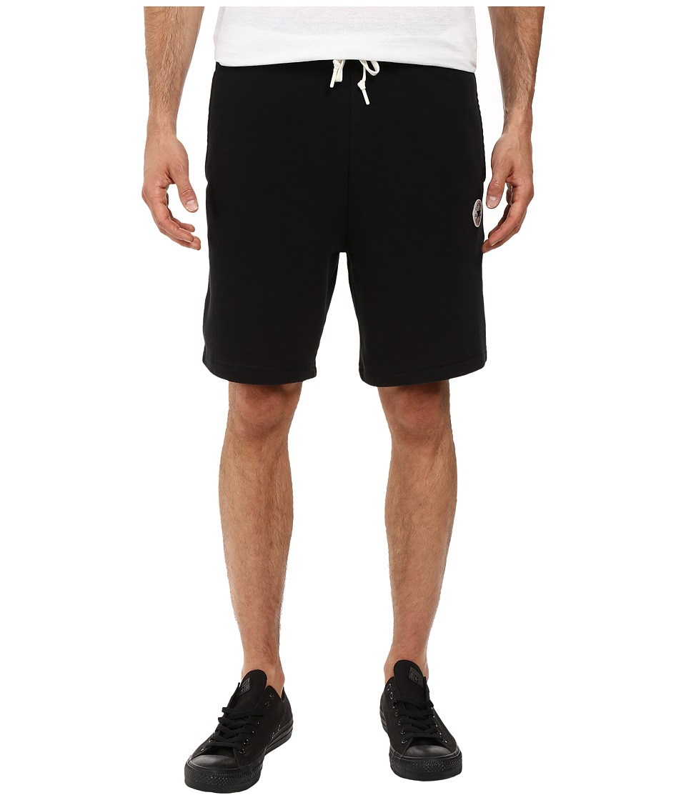Converse - Core Fleece Shorts (Black) Men's Shorts