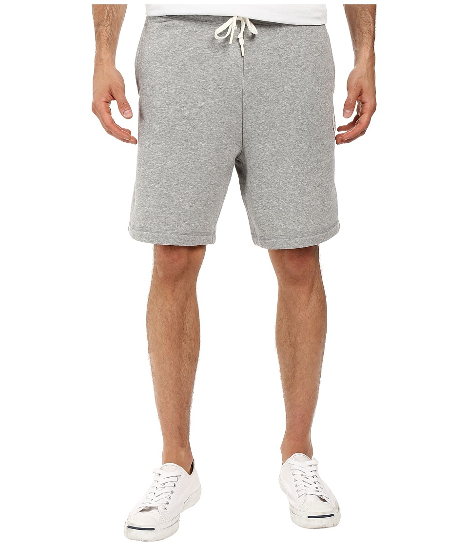 Converse - Core Fleece Shorts (Vintage Grey Heather) Men's Shorts