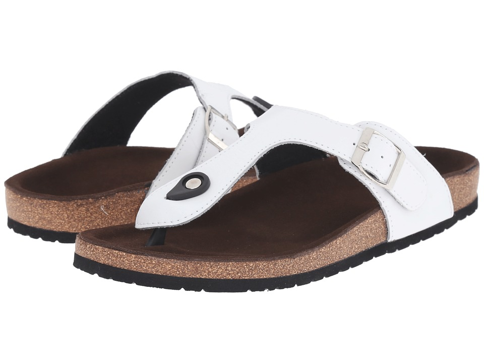 Lamo - Redwood (White) Women's Shoes