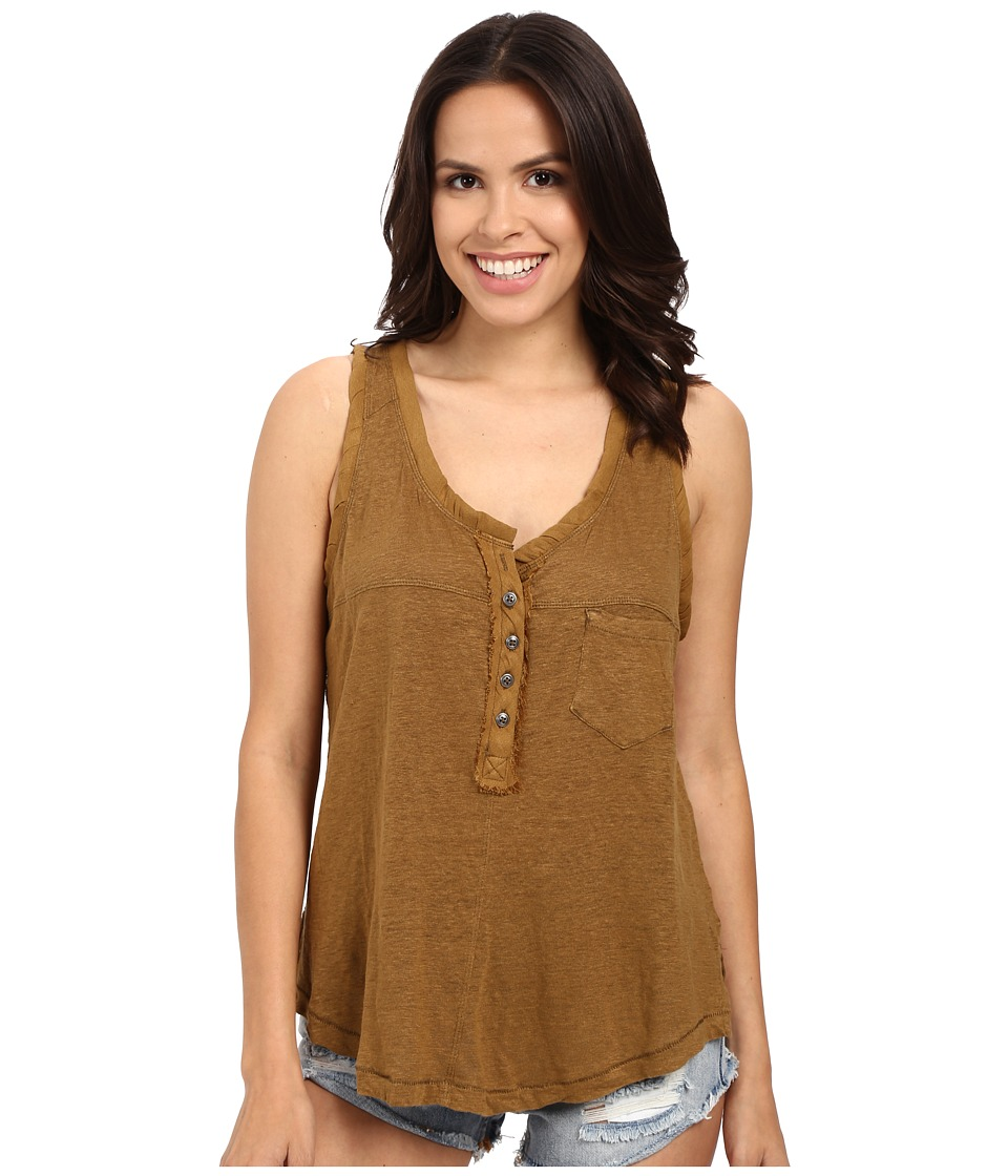 Free People - Traveler Tank Top (Moss) Women's Sleeveless