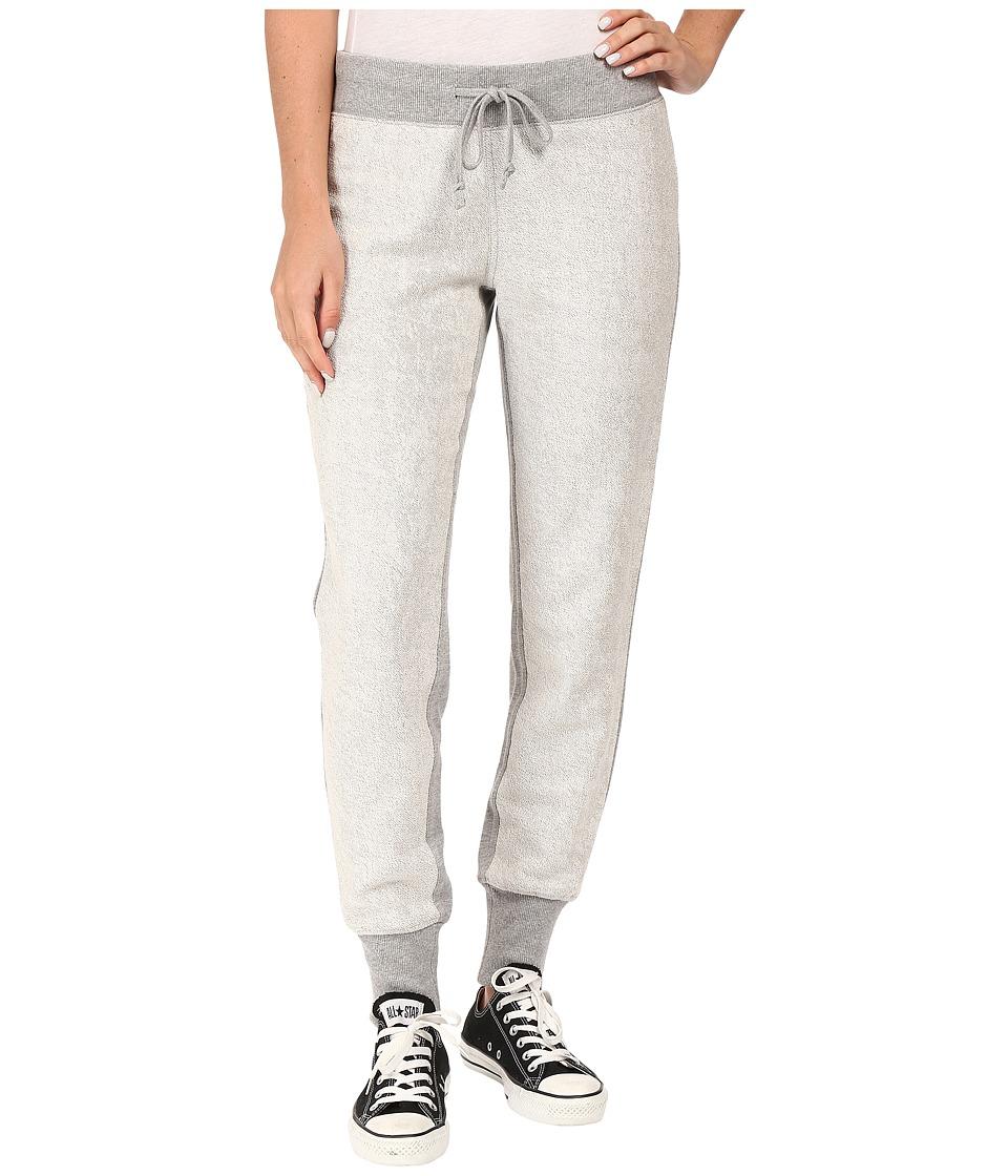 Converse - Metallic Jogger Pants (Vintage Grey Heather) Women's Casual Pants