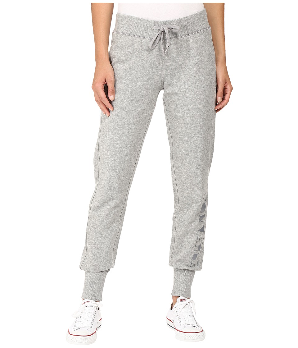 Converse - Rubber Print Fleece Pants (Vintage Grey Heather) Women's Casual Pants