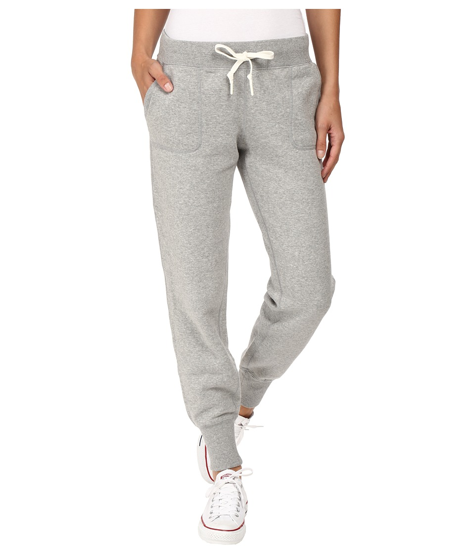 Converse - Core Signature Fleece Pants (Vintage Grey Heather) Women's Casual Pants