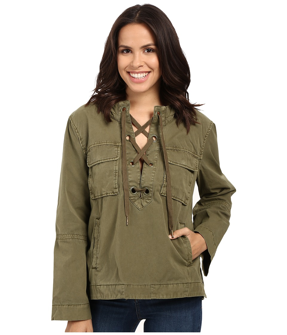 Free People - Safari Pullover (Green) Women's Clothing