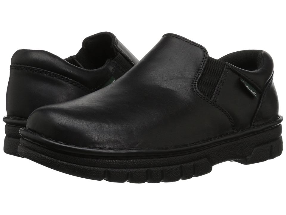 Eastland - Newport (Black Leather) Men's Slip on Shoes
