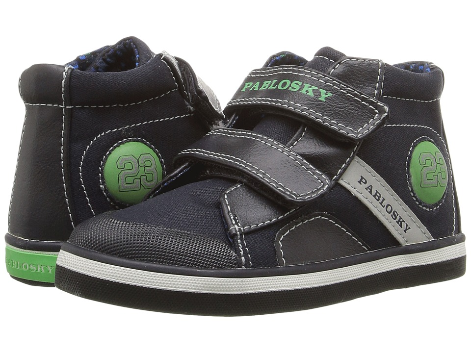 Pablosky Kids - 9365 (Toddler) (Navy) Boy's Shoes