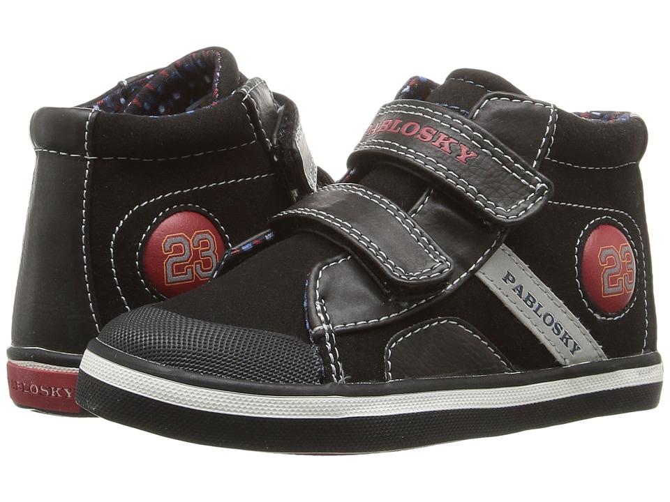 Pablosky Kids - 9365 (Toddler) (Black) Boy's Shoes
