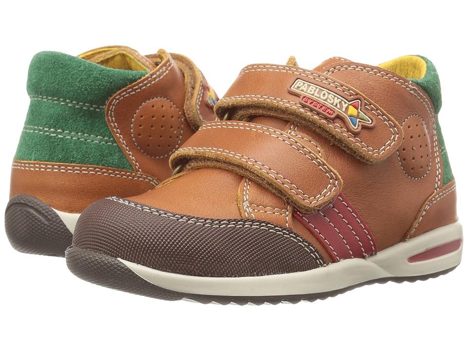 Pablosky Kids - 0987 (Toddler) (Brandy) Boy's Shoes