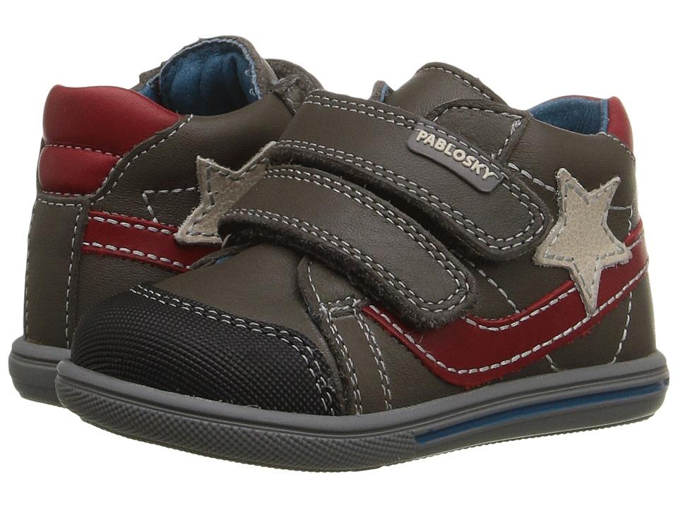 Pablosky Kids - 0911 (Infant/Toddler) (Grey) Boy's Shoes