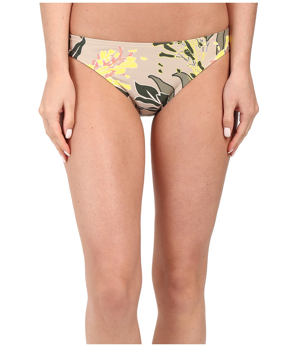 Vince Camuto - Crete Flower Classic Bottom (Sand Dune) Women's Swimwear