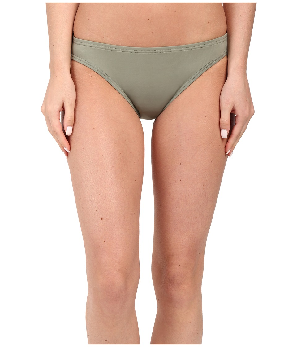 Vince Camuto - Milos Solids Classic Bottom w/ Logo Bar (Sage) Women's Swimwear