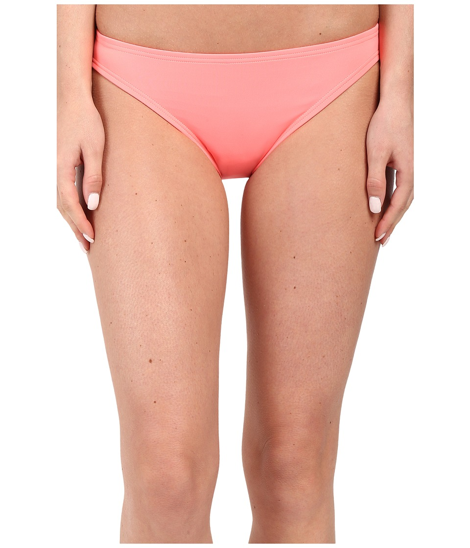 Vince Camuto - Milos Solids Classic Bottom w/ Logo Bar (Coral Sugar) Women's Swimwear