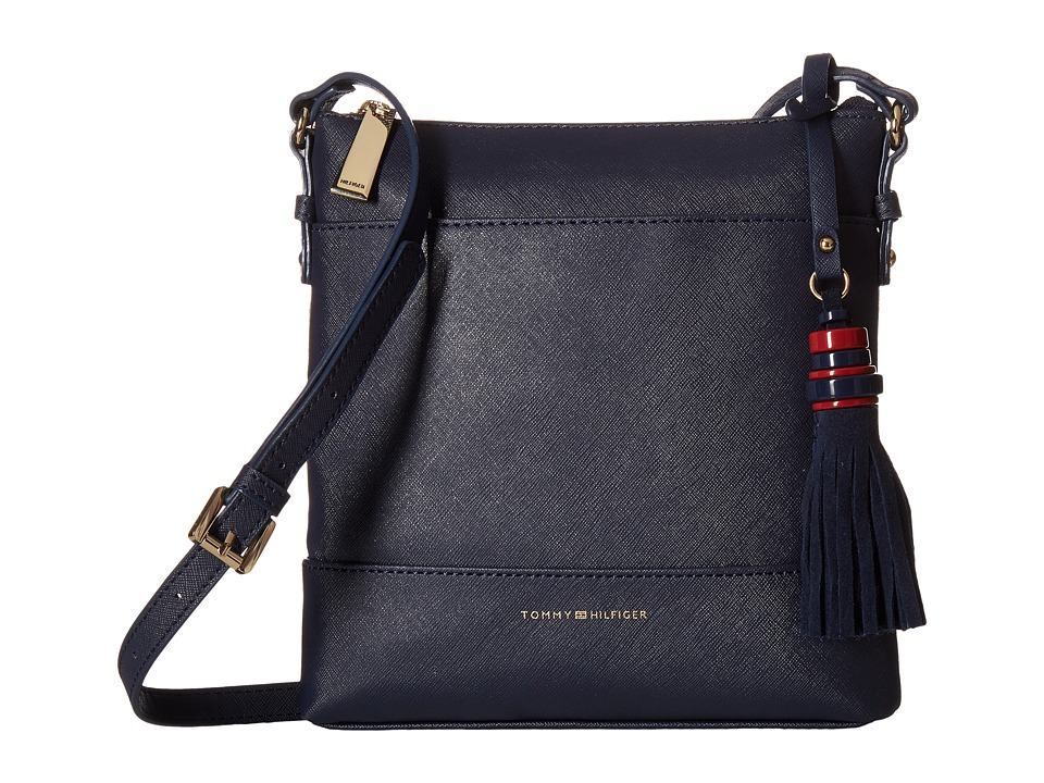 Tommy Hilfiger - Grace - North/South Crossbody (Navy) Cross Body Handbags