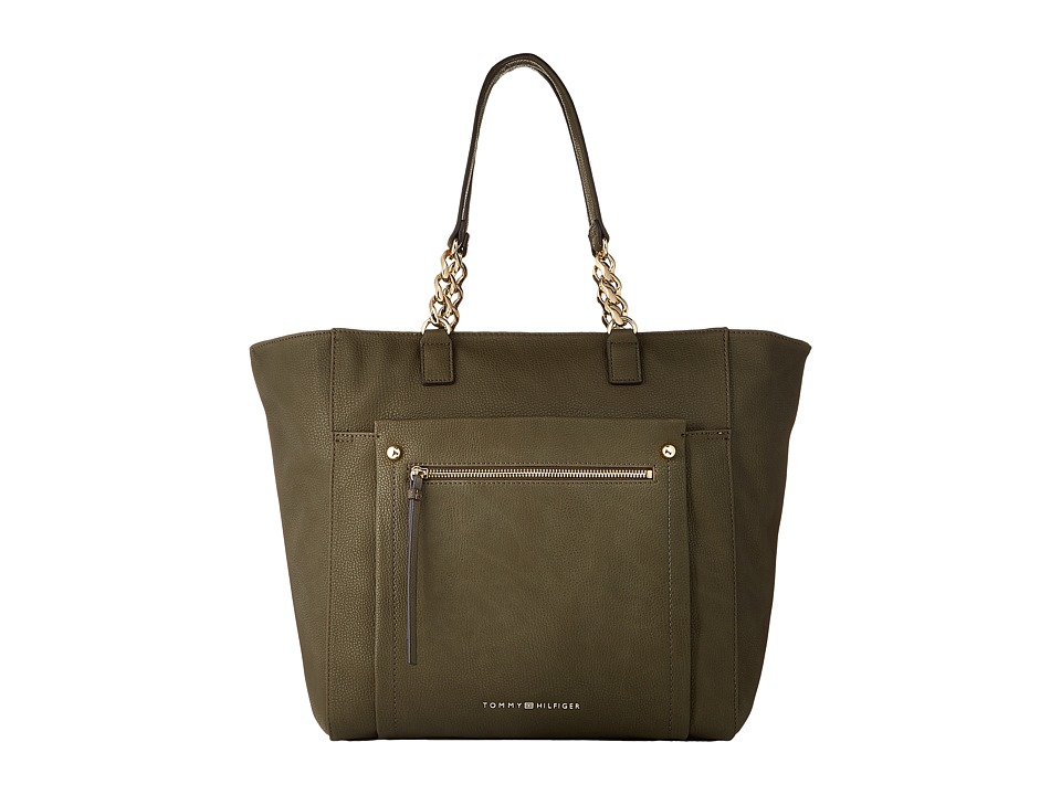Tommy Hilfiger - Tessa - Tote (Olive) Tote Handbags