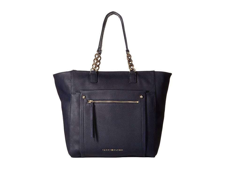 Tommy Hilfiger - Tessa - Tote (Navy) Tote Handbags
