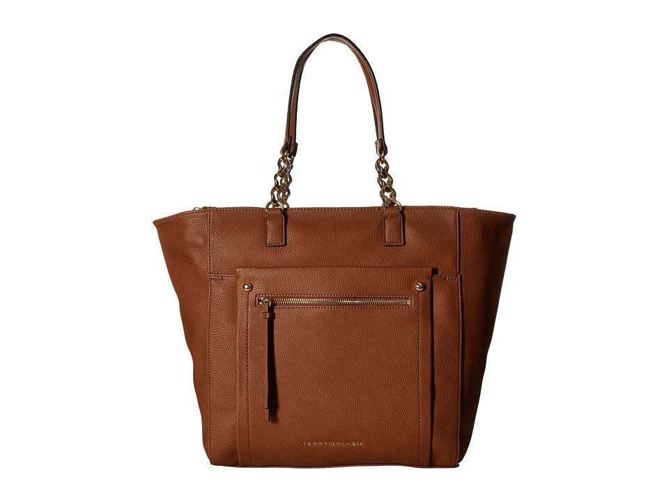Tommy Hilfiger - Tessa - Tote (Cognac) Tote Handbags