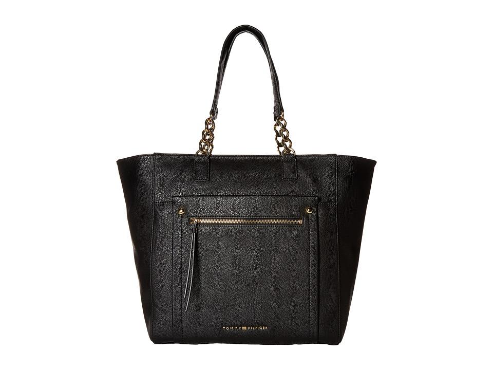 Tommy Hilfiger - Tessa - Tote (Black) Tote Handbags
