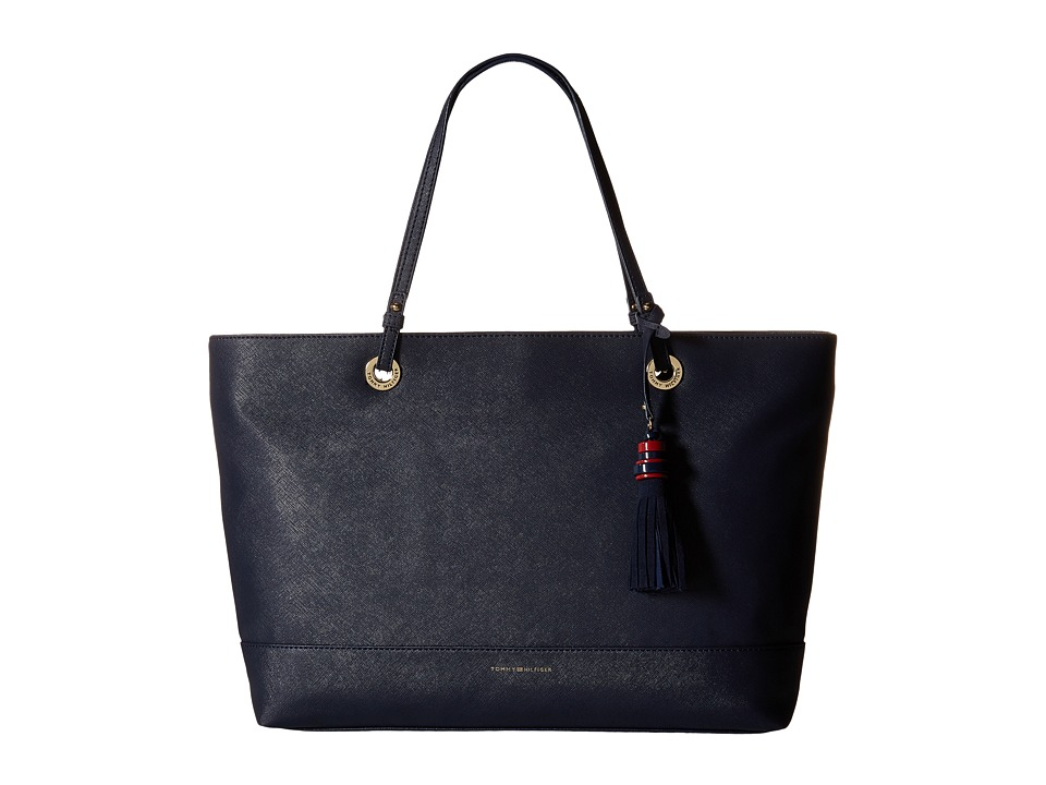 Tommy Hilfiger - Grace - Tote (Navy) Tote Handbags