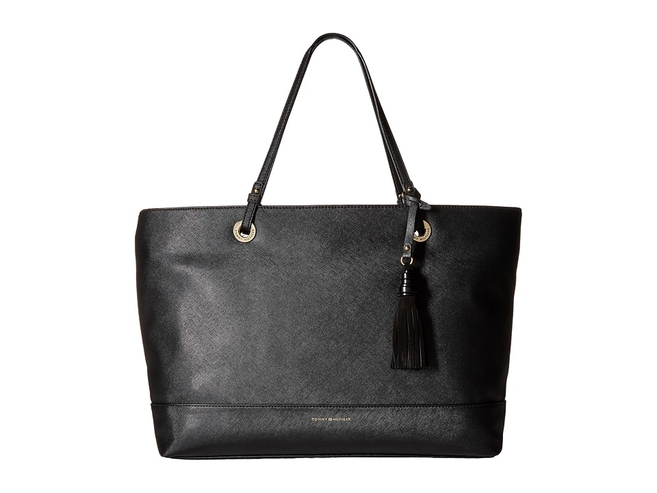 Tommy Hilfiger - Grace - Tote (Black) Tote Handbags