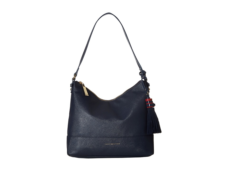 Tommy Hilfiger - Grace - Hobo (Navy) Hobo Handbags