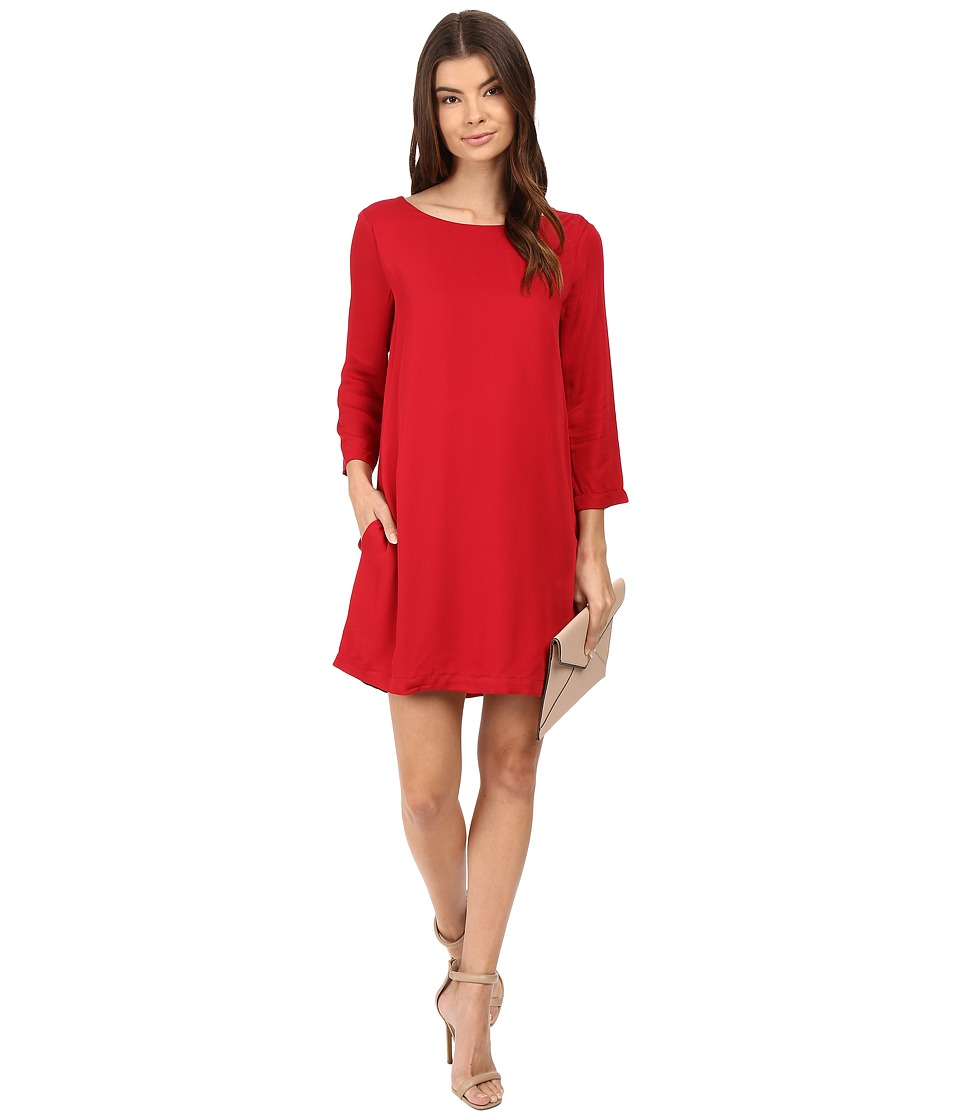 BB Dakota - Zepplin Dress (Cherry Red) Women's Dress