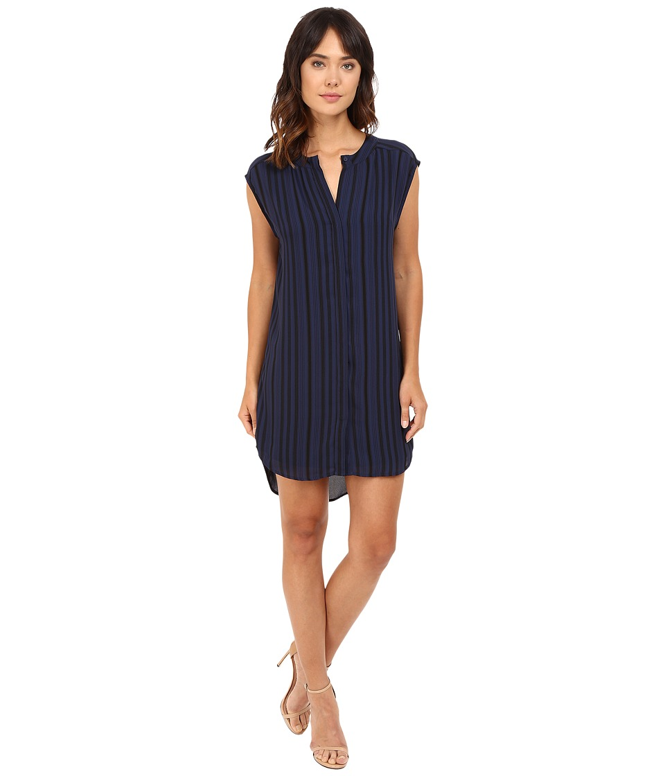 BB Dakota - Broxton Dress (Blue Ridge) Women's Dress