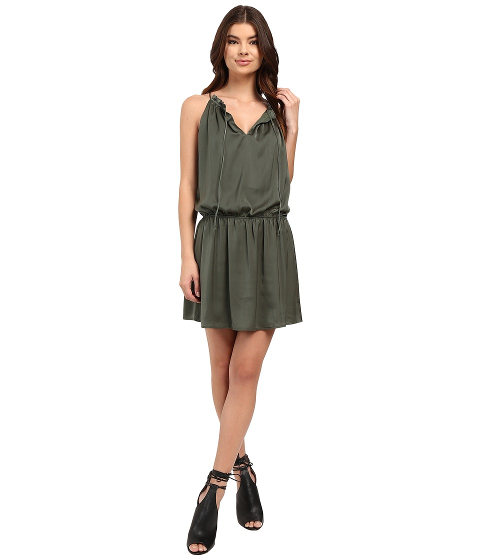 BB Dakota - Kelving Dress (Army Green) Women's Dress