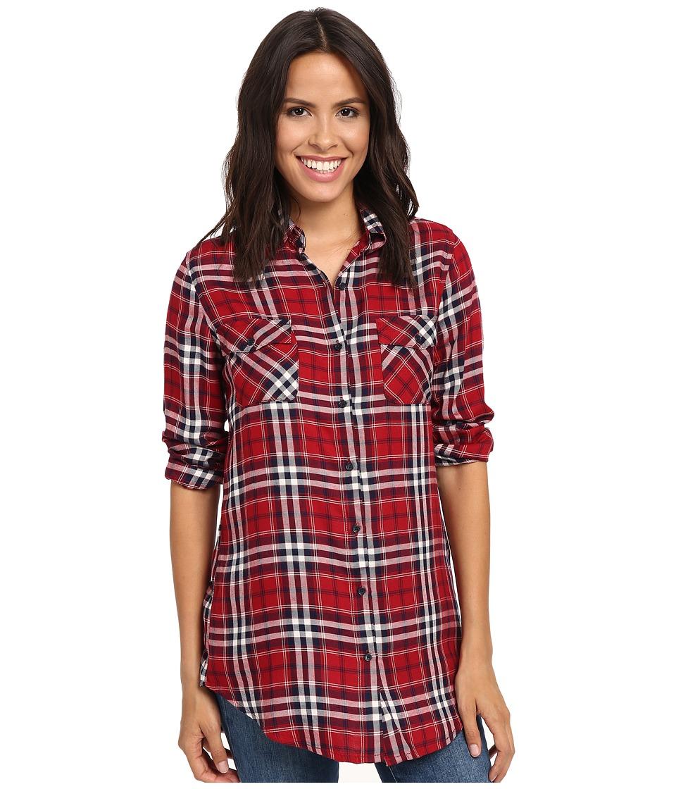 BB Dakota - Hardwood Top (Cherry Red) Women's Clothing