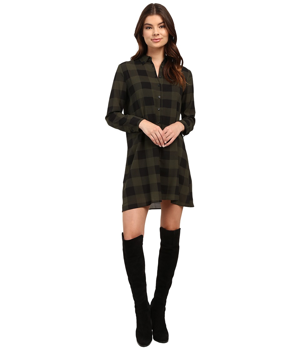 BB Dakota Holly-Anne Dress (Army Green) Women