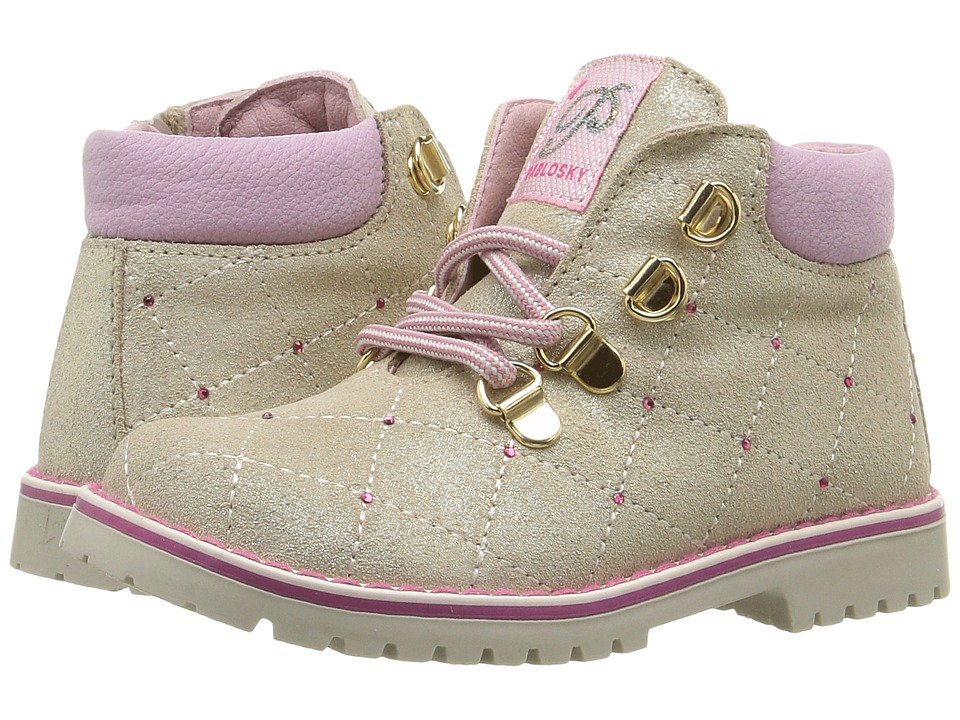 Pablosky Kids - 0965 (Toddler) (Vanilla) Girl's Shoes