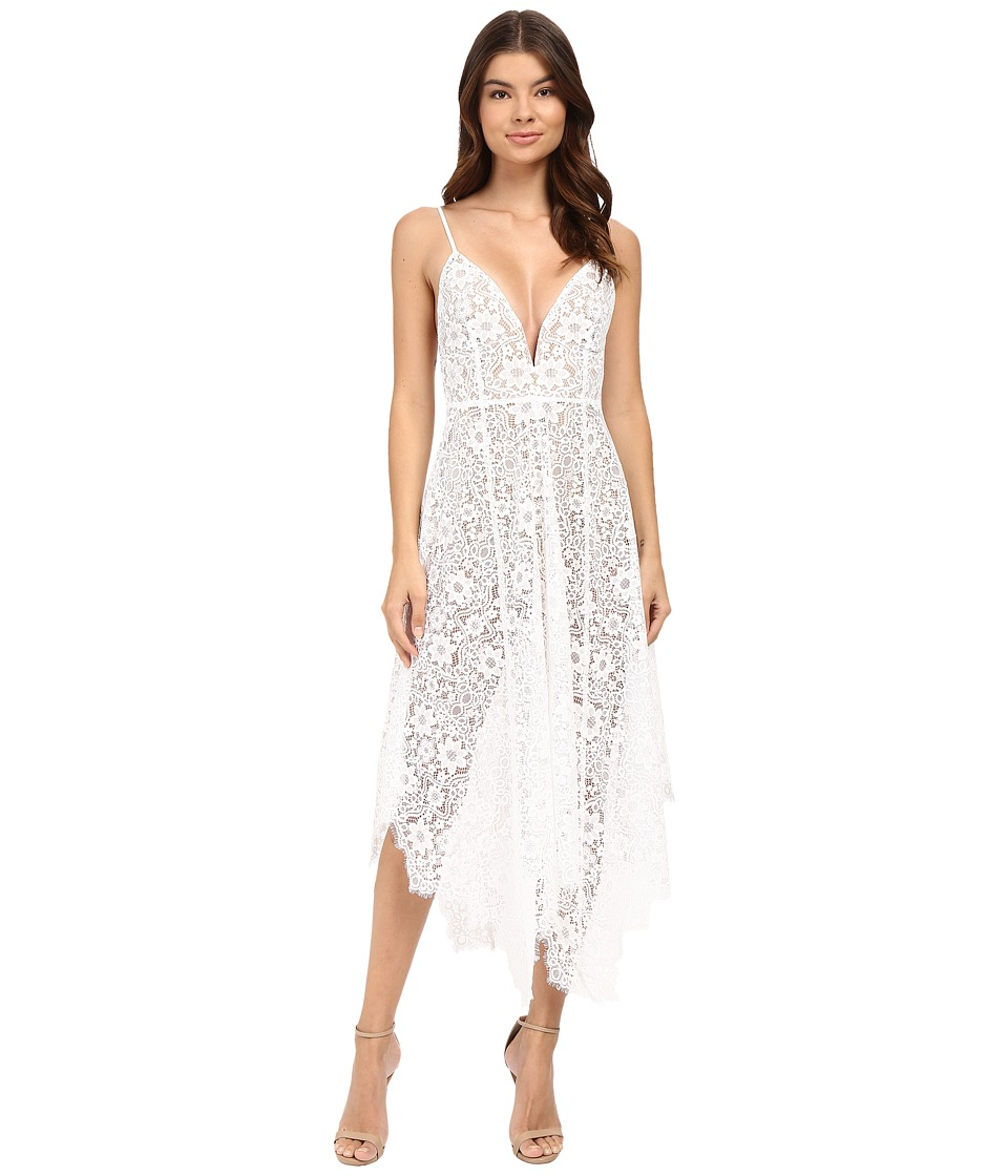 For Love and Lemons - Rosemary Midi Dress (Ivory) Women's Dress