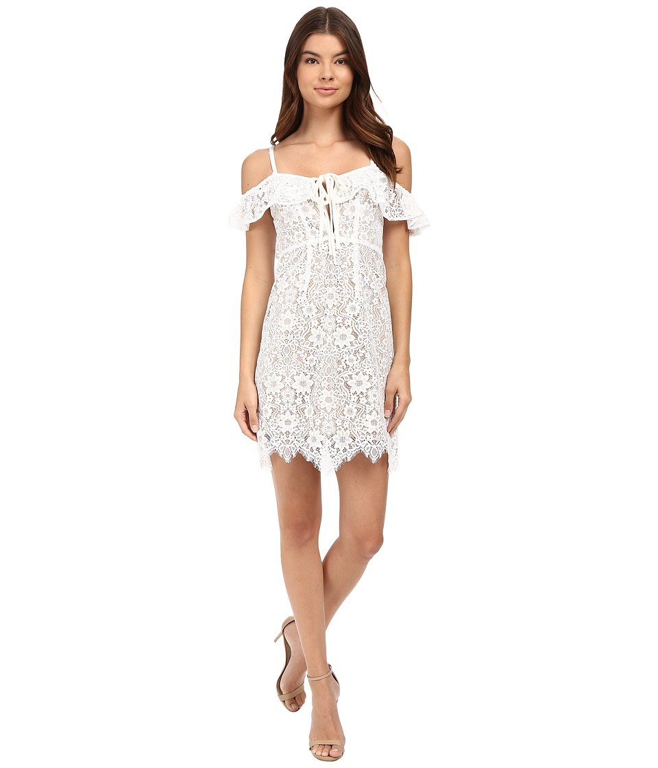 For Love and Lemons - Rosemary Mini Dress (Ivory) Women's Dress