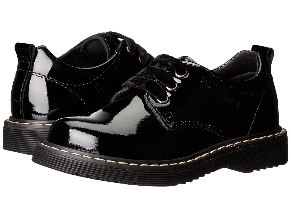 Pablosky Kids - 3157 (Toddler/Little Kid/Big Kid) (Black Patent) Girl's Shoes