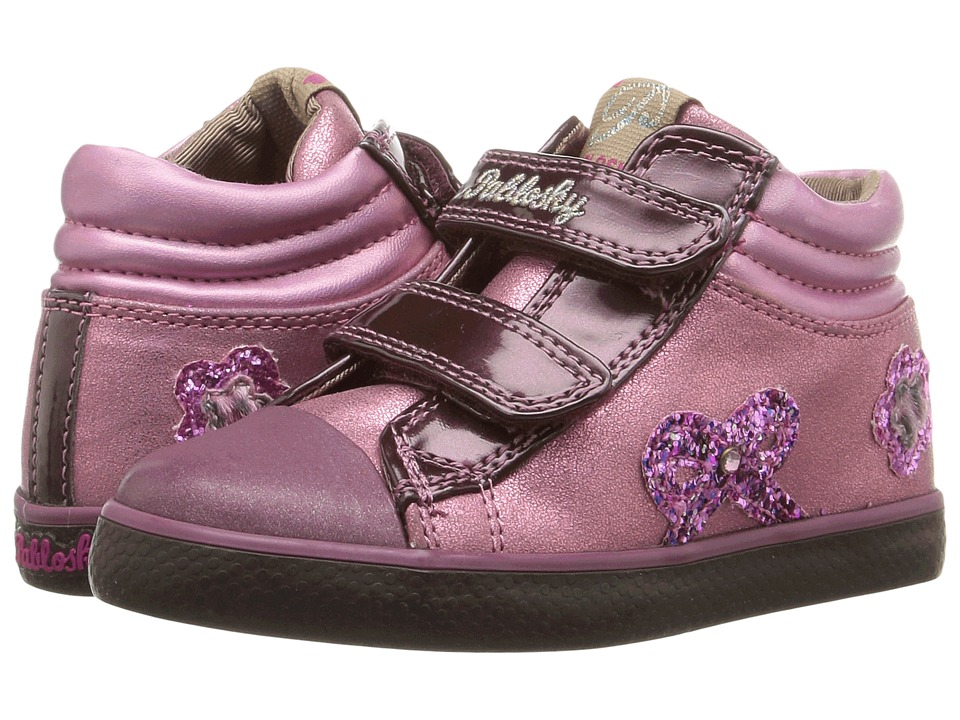 Pablosky Kids - 9368 (Toddler) (Burgundy) Girl's Shoes
