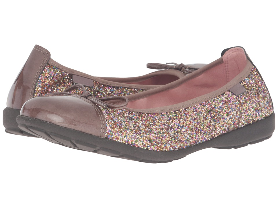 Pablosky Kids - 8169 (Little Kid/Big Kid) (Rose Patent/Glitter) Girl's Shoes