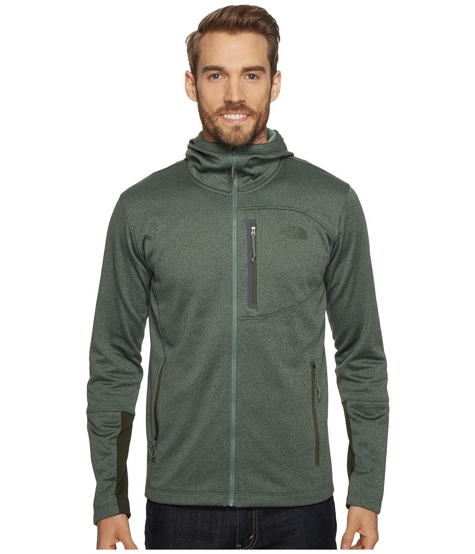 The North Face - Canyonlands Hoodie (Duck Green Heather) Men's Sweatshirt