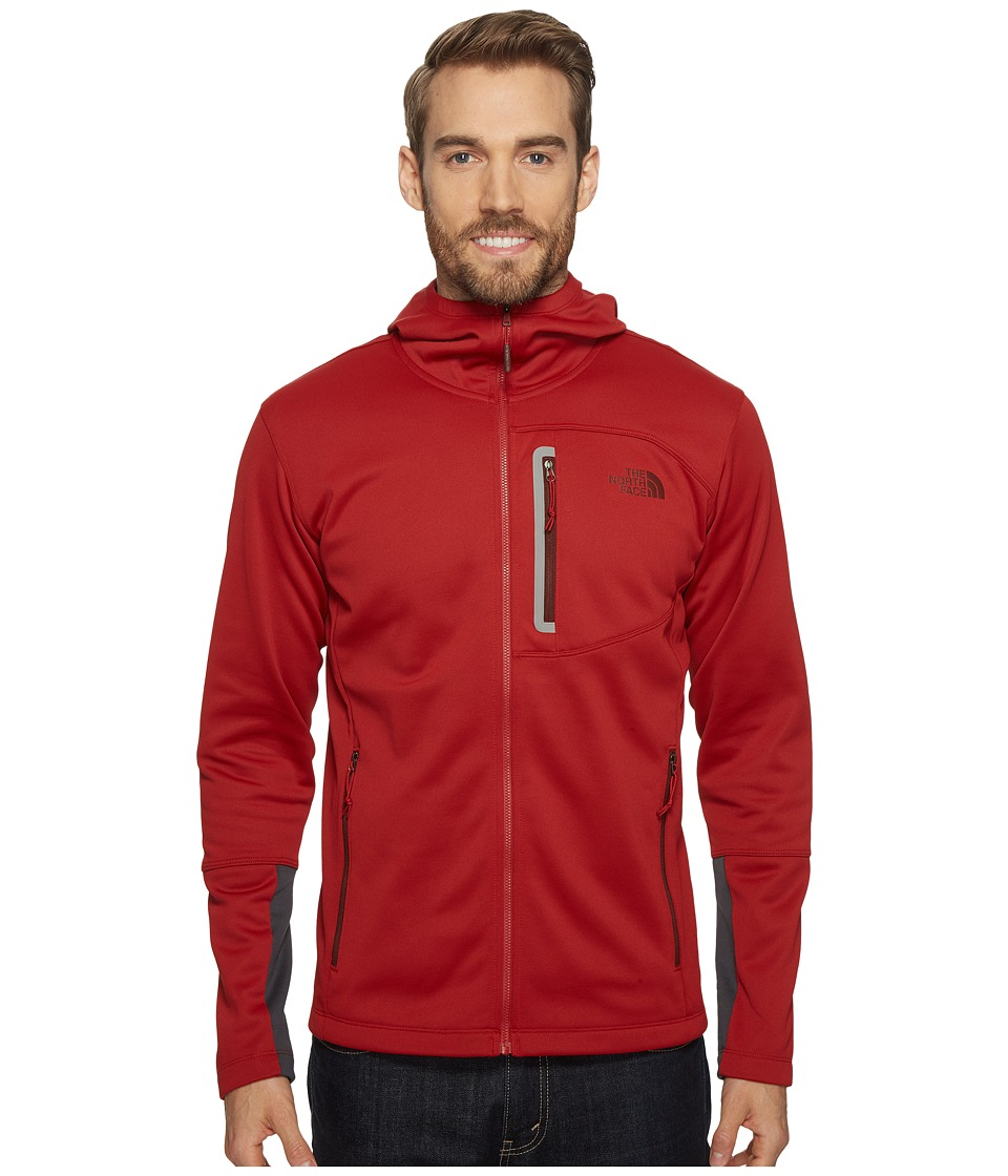 The North Face - Canyonlands Hoodie (Cardinal Red) Men's Sweatshirt
