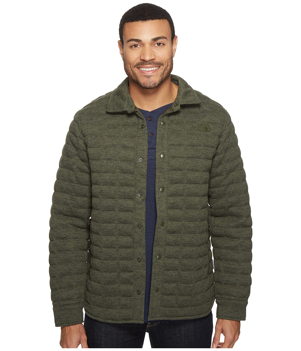 The North Face - Kingston Thermoball Shacket (Climbing Ivy Green Heather) Men's Coat