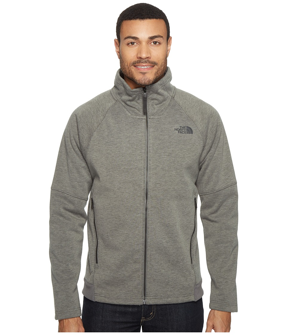 The North Face - Trunorth Full Zip (Fusebox Grey Heather/Fusebox Grey Heather) Men's Fleece