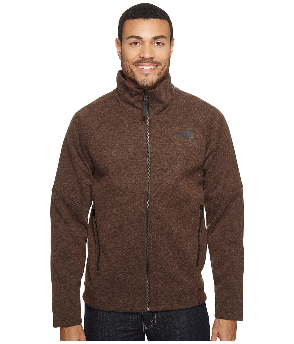 The North Face - Trunorth Full Zip (Coffee Bean Brown Heather/Coffee Bean Brown Heather) Men's Fleece