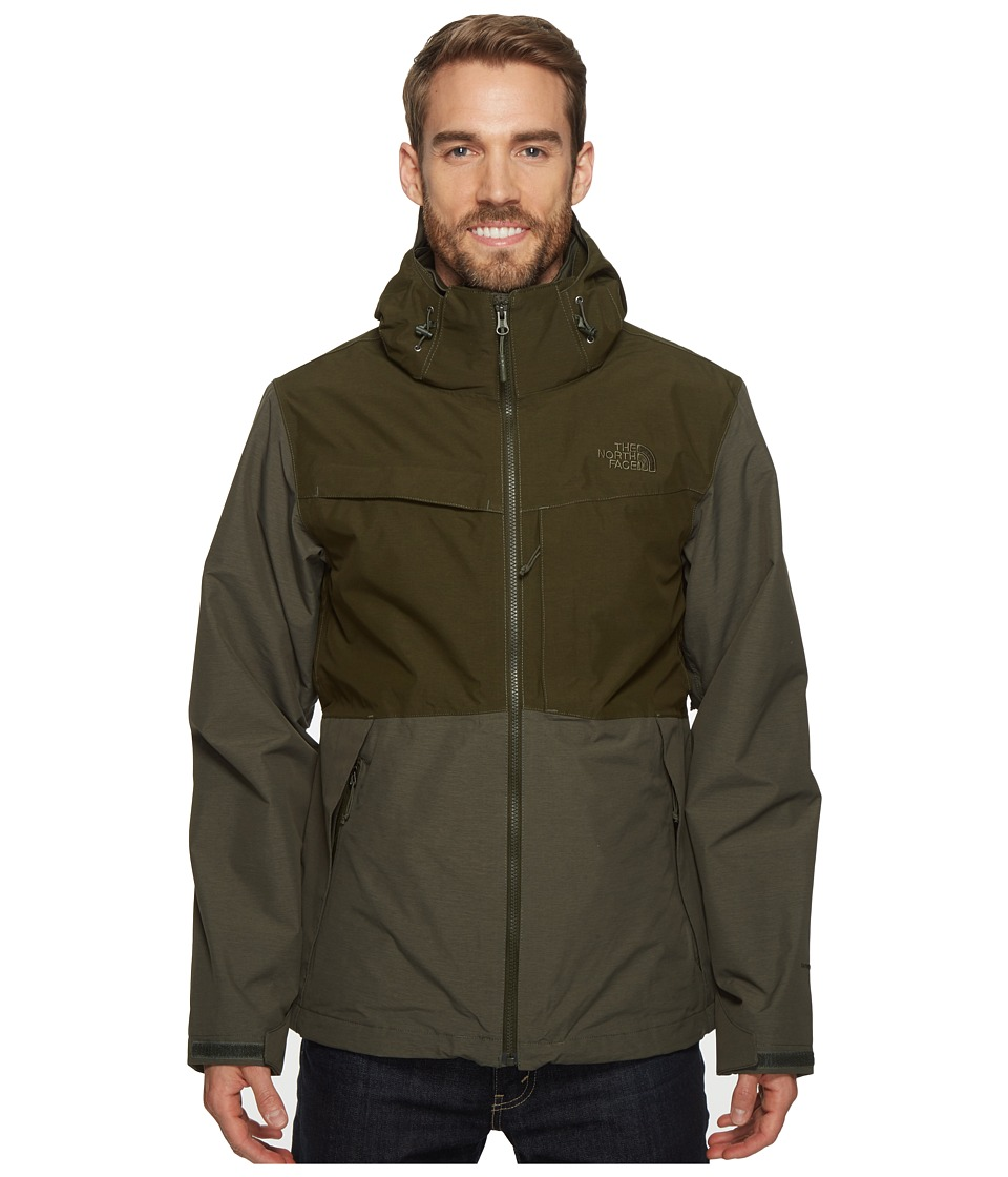 The North Face - Condor Triclimate Jacket (Climbing Ivy Green Heather/Rosin Green Heather) Men's Coat
